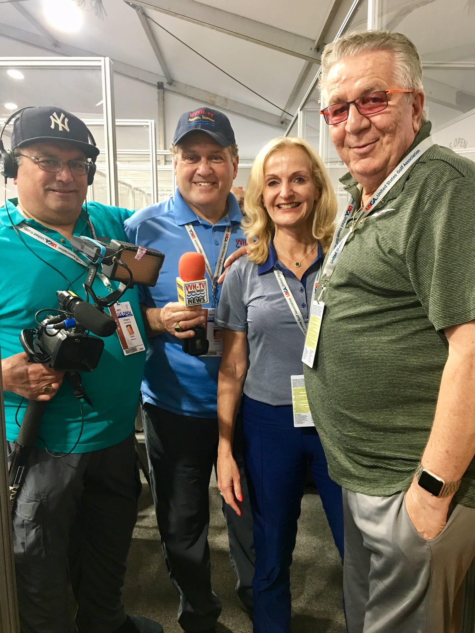 WVVH Covers the US Open for the Local Market – Broadcasting